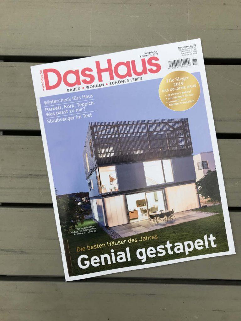 Cover - Das Haus - Ausgabe November